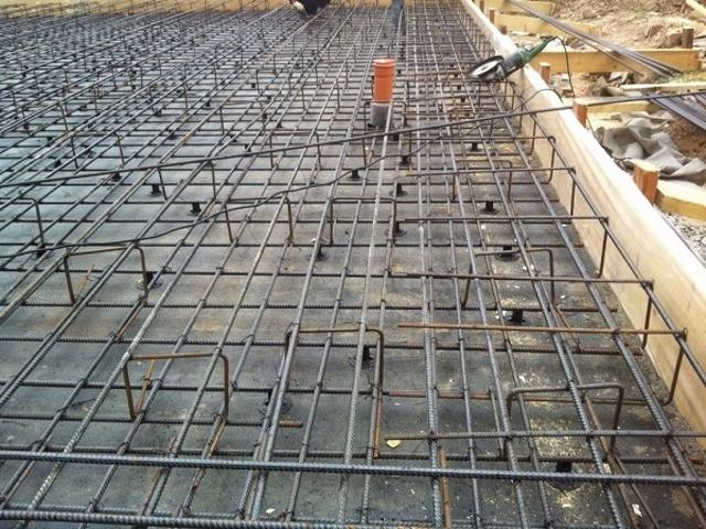 бетонная смесь для монолитных работ