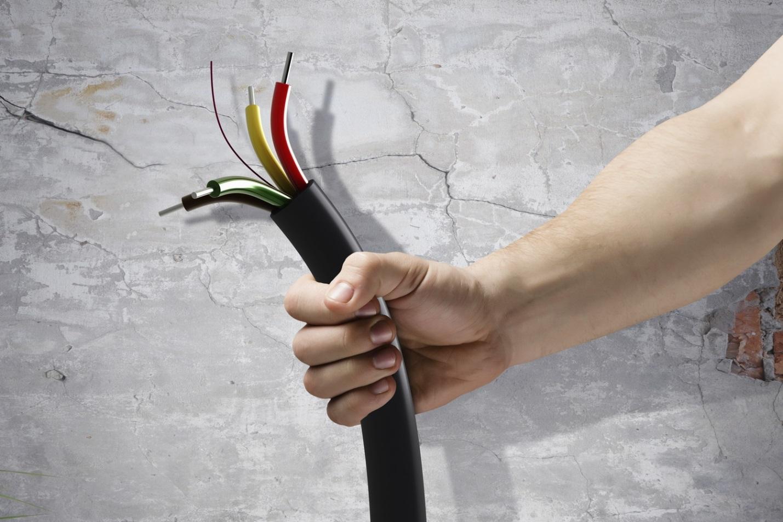 Картинки монтажа кабеля